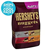 For a satisfying treat, sink your sweet tooth into HERSHEY'S NUGGETS Chocolates Assortment. From this one bag you can choose from HERSHEY'S SPECIAL DARK Mildly Sweet Chocolate with Almonds, HERSHEY'S Extra Creamy Milk Chocolate with Toffee and Almond...