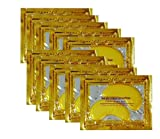 10/20/30/50/60/80/100 pairs wholesale New Crystal 24K Gold Powder Gel Collagen Eye Mask Masks Sheet Patch, Anti Ageing Aging, Remove Bags, Dark Circles & Puffiness, Skincare, Anti Wrinkle, Moisturising, Moisture, Hydrating, Uplifting, Whitening, Remove Blemishes & Blackheads Product. Firmer, Smoother, Tone, Regeneration Of Skin. Suitable For Home Use Hot or Cold. (10 pairs)