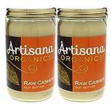 Artisana Organics Non GMO Raw Cashew Butter,14 oz (2 Pack)