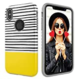 Case for iPhone Xs Max,Digital Hutty Dual Layers Shockproof Heavy Duty Protective Cover for Apple iPhone Xs Max 6.5 Inch 2018 Release