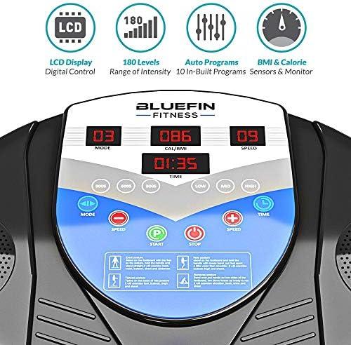 Bluefin Fitness Vibration Platform | Pro Model | Upgraded Design with Silent Motors and Built in Speakers 6