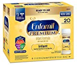 Enfamil PREMIUM Non-GMO Infant Formula - Ready to Use Nursette Bottles, 2 fl oz (48 count)
