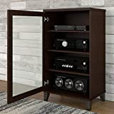 Product review for Somerset Media Cabinet in Mocha Cherry