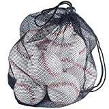 Tebery 12 Pack Standard Size T-Ball Training Baseballs Reduced Impact Safety Baseballs Unmarked & Soft Practice Baseballs