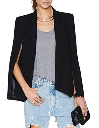 This blazer and pants look is so chic!
