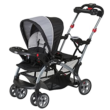 Amazon Com Baby Trend Sit N Stand Ultra Tandem Stroller Phantom Baby