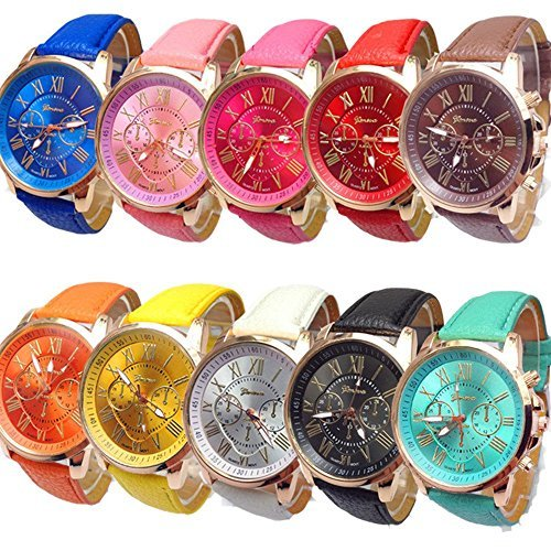 61%2BZ7m9T WL Case material: alloy; Band material: leather Watch case diameter(cm): approx 3.9; Band length(cm): 22.5 Movement: quartz; Display: analog