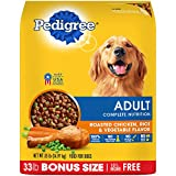 Pedigree Complete Nutrition Adult Dry Dog Food Roasted Chicken, Rice & Vegetable Flavor, 33 Lb. Bag