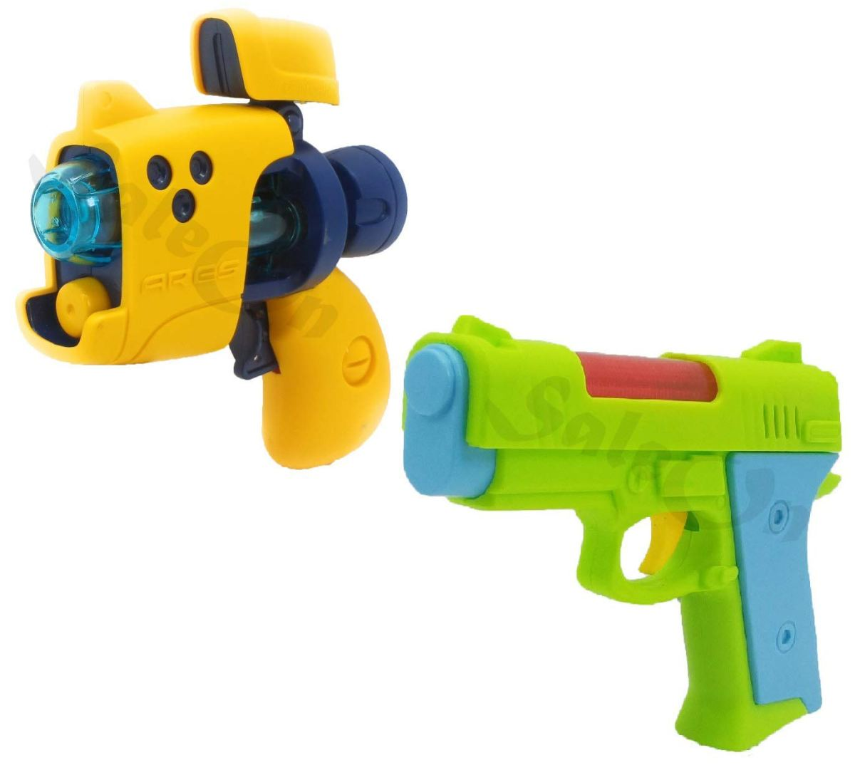 SaleOn™ Light and Music Gun Toy Plastic Realistic Sound and Light Effect (Set of 2)-1072