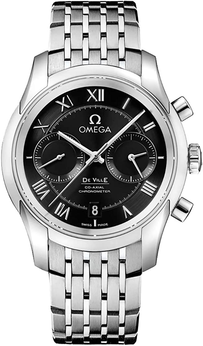 Omega DeVille Black Dial Mens Watch 431.10.42.51.01.001