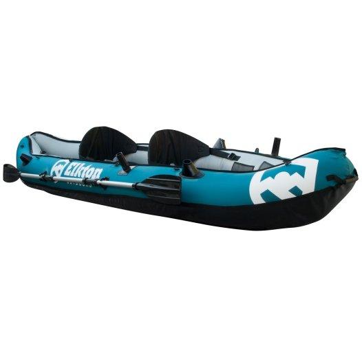 Elkton Outdoors 10' Foot Inflatable Tear Resistant Fishing Kayak