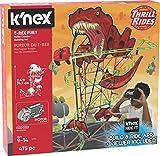 K'NEX Thrill Rides T-Rex Fury Roller Coaster Building Set With K'NEX Ride It! App