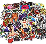 Nuoxinus Car Stickers 100 PCS Waterproof Graffiti Vinyl Stickers, Cool Laptop Stickers Motorcycle Bicycle Luggage Decal Graffiti Patches Skateboard Stickers - Not Repeat Random Sticker Pack