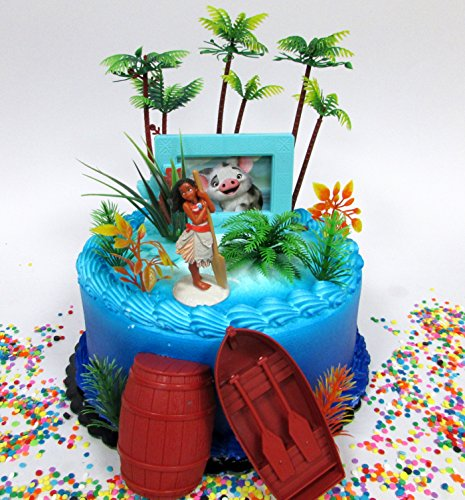 Awesome moana birthday party ideas viva veltoro for 1st birthday decoration packs