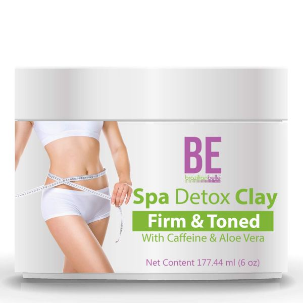 Brazilian Spa Detox Body Clay for Inch Loss Body Wraps, Detox and Cleanse