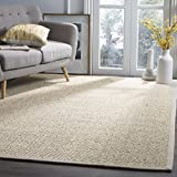 Safavieh Natural Fiber Collection NF525C Marble Sisal Area Rug (9' x 12')