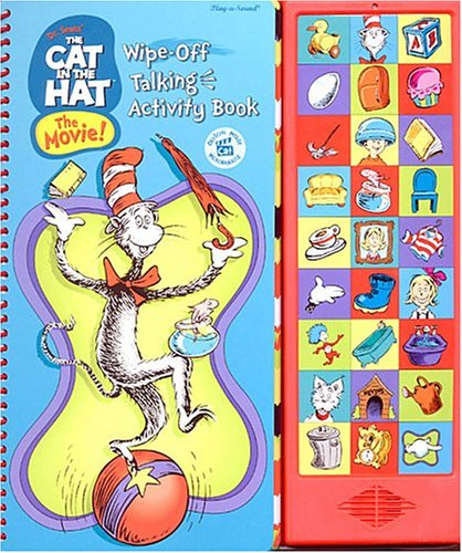Dr Seuss The Cat In The Hat The Movie Wipe Off Talking Activity Book Brooke Susan Rich Enik Ted 9780785389033 Amazon Com Books