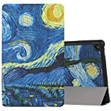 MoKo Case for Fire HD 8 2016 Tablet - Slim Lightweight Smart Shell Stand Cover with Auto Wake / Sleep for Fire HD 8 (Previous 6th Gen - 2016 Release ONLY), Starry Night (NOT FIT 7th Gen 2017 Tablet)