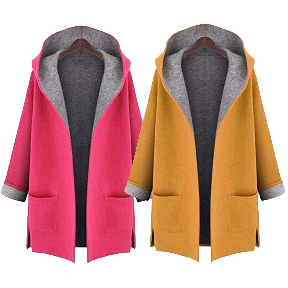 abrigo largo y abierto