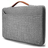 tomtoc 14 inch Laptop Sleeve Handle Zipper Case Compatible with 15' New MacBook Pro Touch Bar Late 2016-2018 A1990 A1707   14' ThinkPad T-Series / X1 Yoga, Briefcase with Accessory Pocket