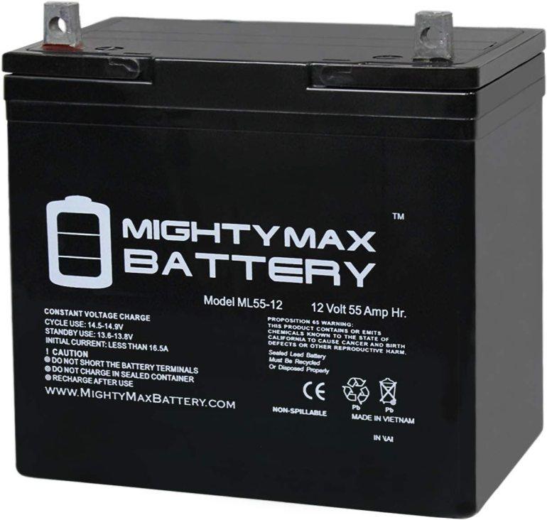 Mighty Max  12V 55Ah Deep Cycle Battery