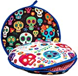 Largest! TWO SIDED Tortilla Warmer, 12' Insulated and Microwaveable, Fabric Pouch Keeps Them Warm for up to One Hour! Perfect Holder for Corn & Flour, Insulated Keeper! By ENdeas