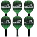 Verus Sports Deluxe Pickleball Paddle - Set of 6