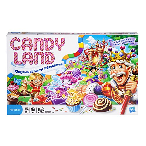 Hasbro Candy Land The World of Sweets Board Game, Preschool,