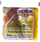 4066 Great Northern Popcorn 4 Ounce Premium Popcorn Portion Packs, Case of 12