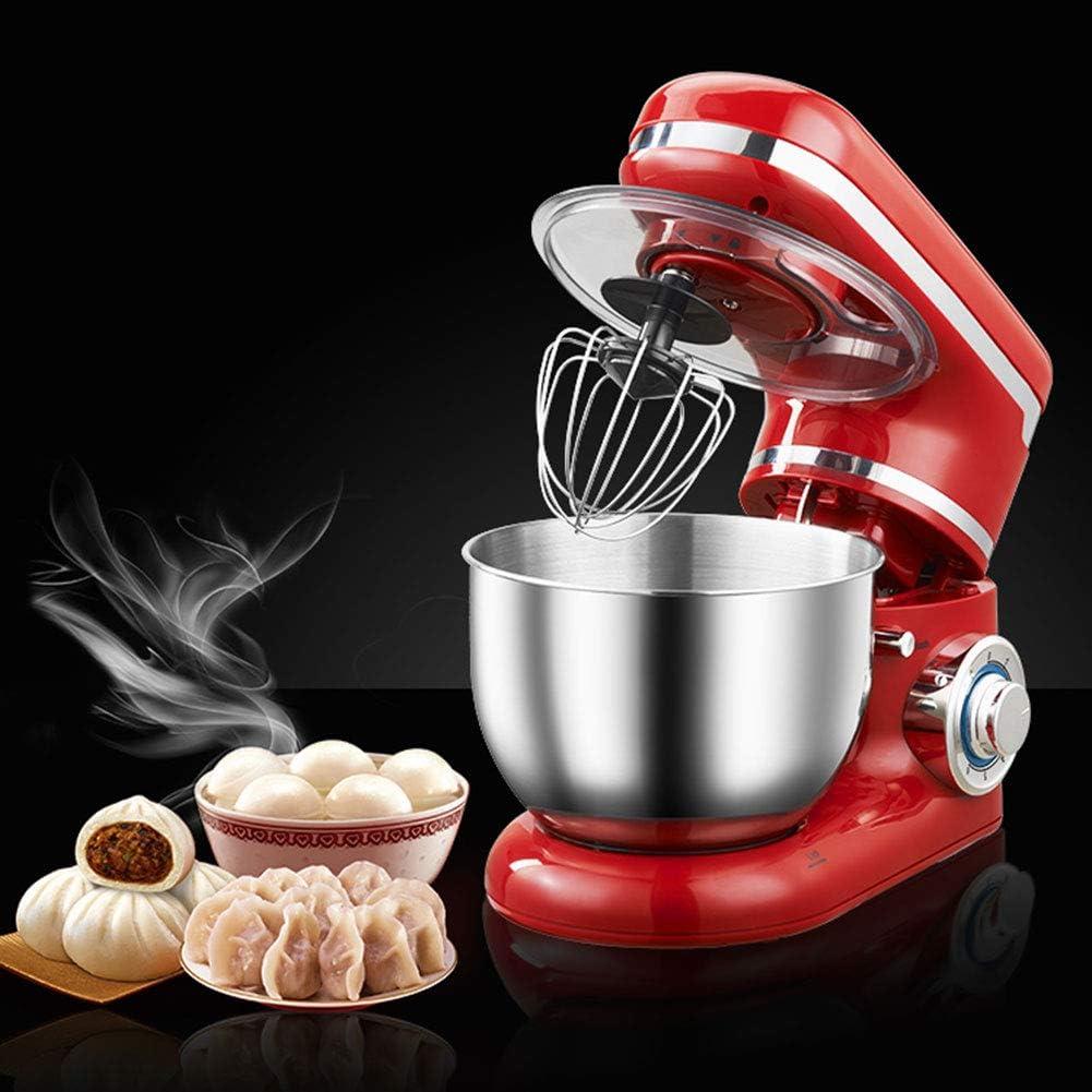 Amazon.com: 1200W 4L Stainless Steel Bowl 6-Speed Kitchen Food Stand Mixer  Cream Egg Whisk Blender Cake Dough Bread Mixer Maker Machine: Kitchen &  Dining
