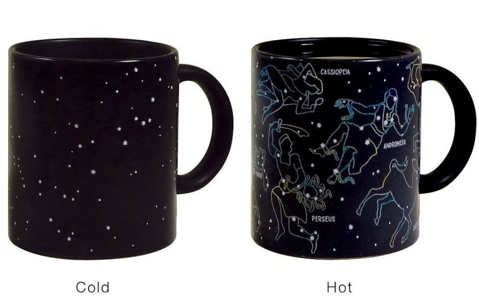 Color Changing Ceramic Coffee Mug