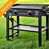 Flat Top Griddle Grill Assembly - 2-3 Burner