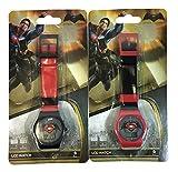 Universal Batman vs Superman Digital Watch (2 Pack), Assorted Colors