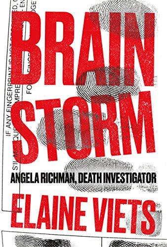 Brain Storm (Angela Richman, Death Investigator Book 1) by [Viets, Elaine]