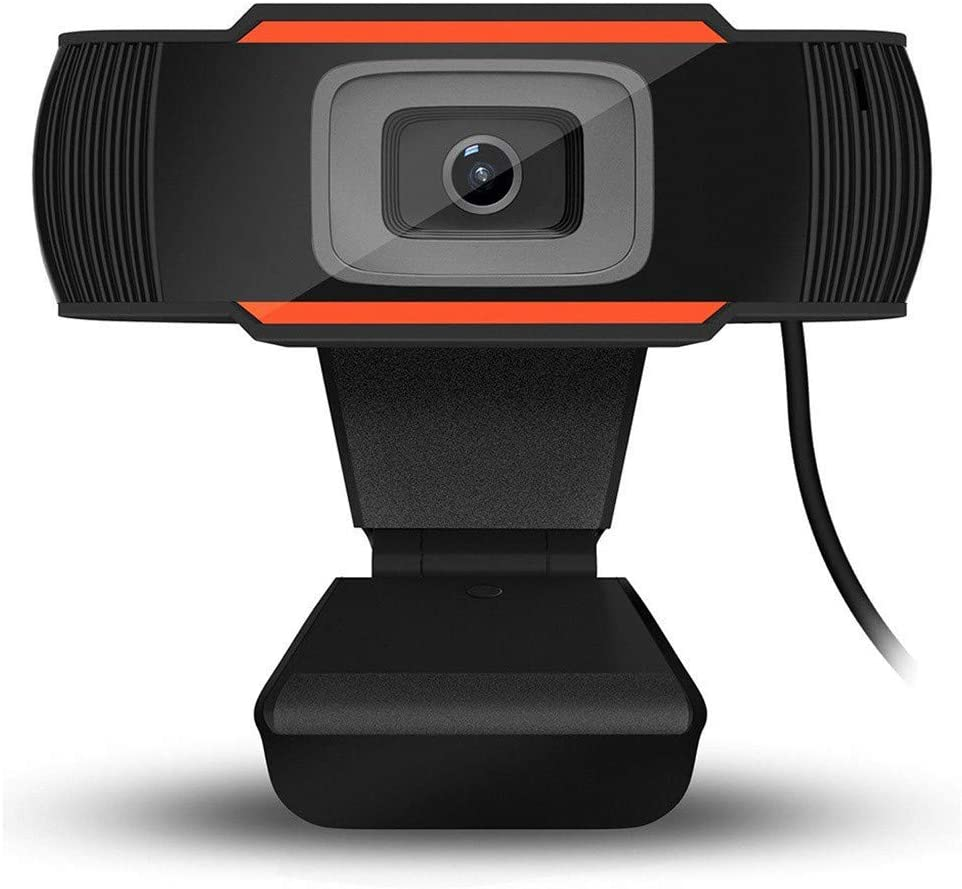 FRATO USB Web Cam with Micro Phone for Computers, PC, Laptop for Video conferencing,Online Classes Best Plug and Play Small Web Camera(Full HD 1920 x 1080P)