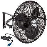 Air King 9020 1/6 HP Industrial Grade Wall Mount Fan, 20-Inch