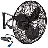 Air King 9020 1/6 HP Industrial Grade Wall Mount Fan, 20-Inch