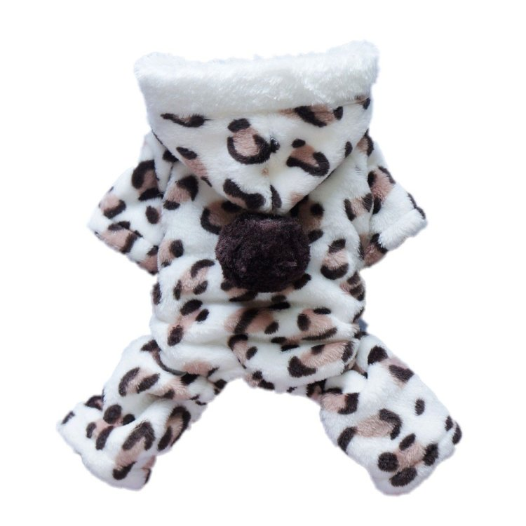 Leopard Hoodie for Dogs