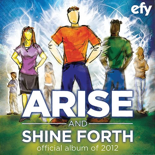 EFY Music: Arise and Shine CD with the Hit Song Glorious
