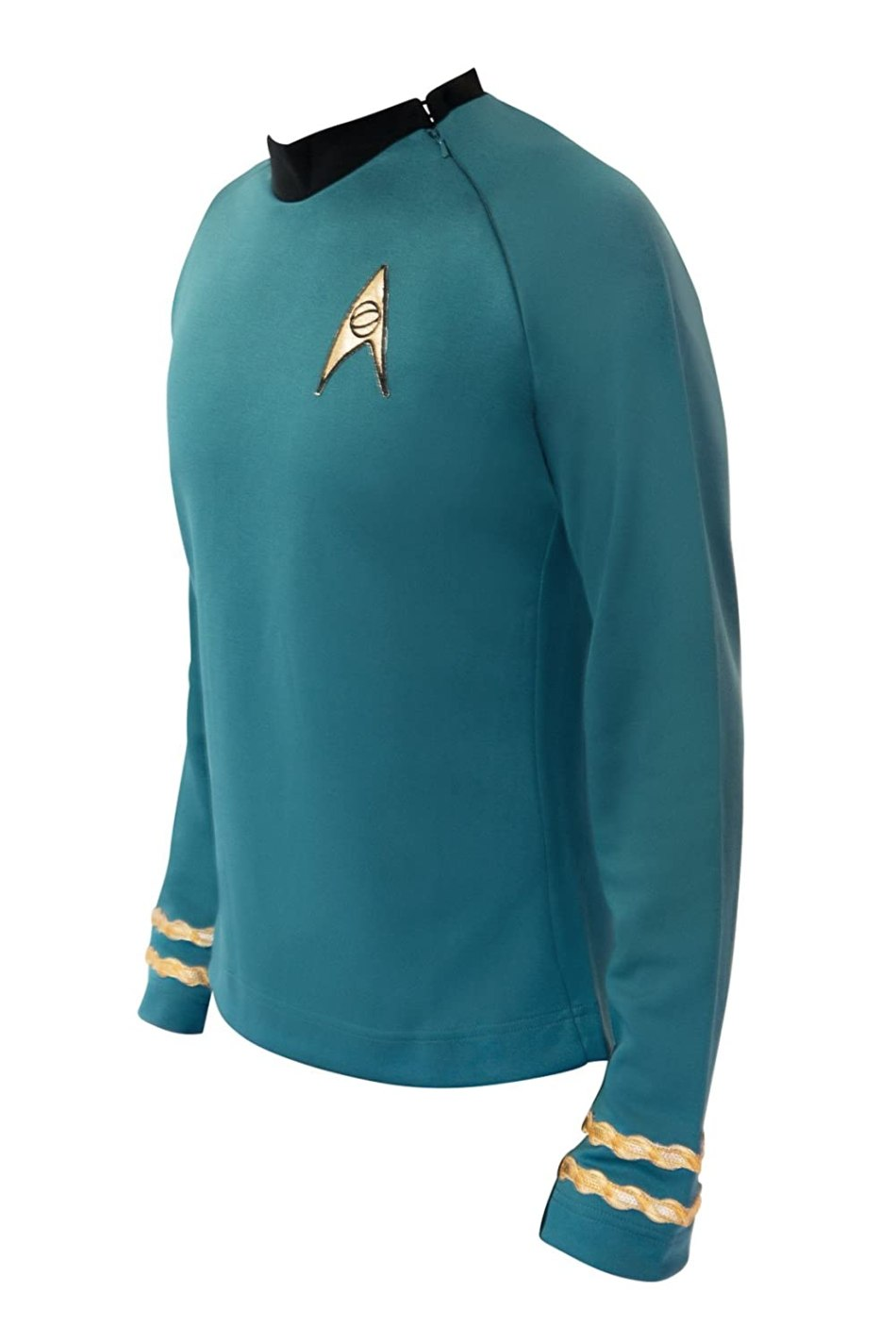 Star Trek Costume Spock TOS Uniform Classic Original Series Shirt