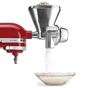 KitchenAid Stand-Mixer Grain-Mill Attachment
