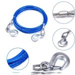 LakhanPal Emergency Tow Pull Rope Snatch Strap for Car- Breaking Strength at (3 TON)