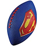 Franklin Sports Mini Rubber Football, Superman