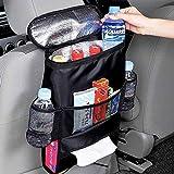 XBRN Car Seat Back Organizer, Multi-Pocket Hanging Backseat Car Organizer Car Storage Cooler Car Seat Organizer