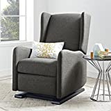 Baby Relax Rylee Gliding Recliner, Gray