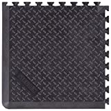 Stanley Extendable Anti-Fatigue Utility Mat – Corner, 24-inch x 24-inch x 0.6-inch