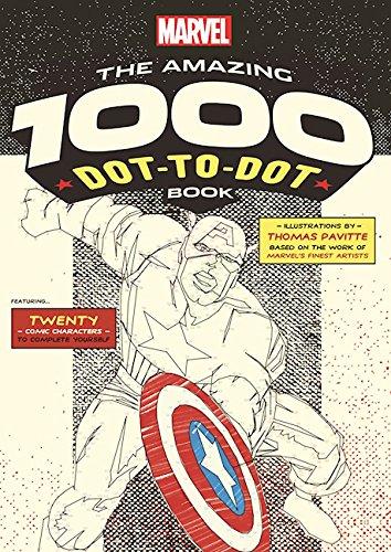 614UayCP1WL Ilex Press announces MARVEL: THE AMAZING 1000 DOT-TO-DOT BOOK