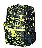 Under Armour HOF Youth Boys Athletic Multi purpose School Backpack (Black/green/grey)
