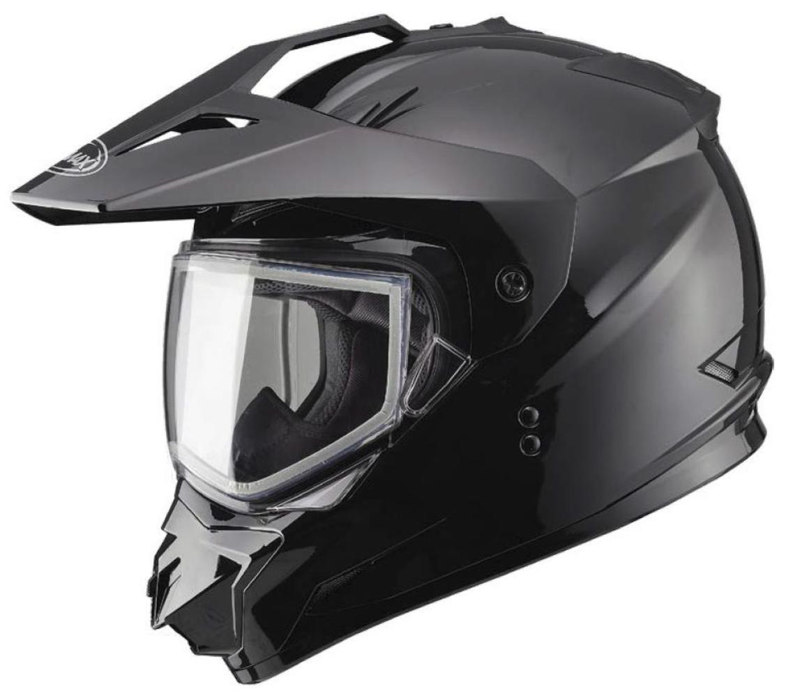 G-Max GM11S Snow Sport Helmet (Black, X-Large)
