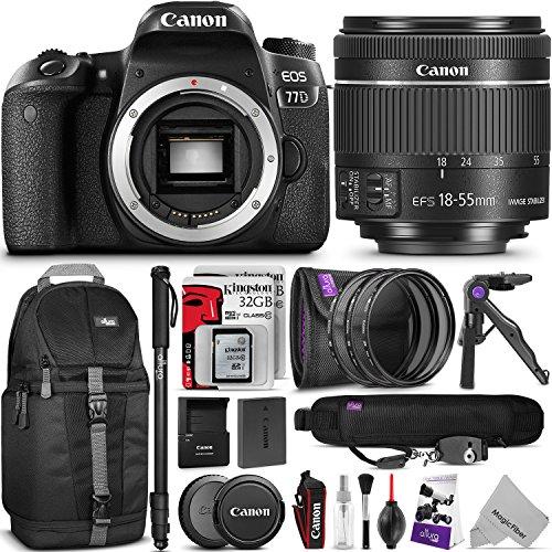 Canon EOS 77D Bundle 3
